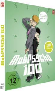 Mob Psycho Vol 1 Review DVD Cover