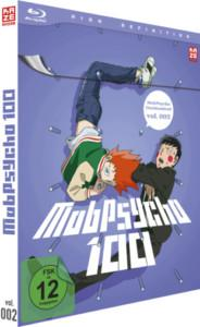 Mob Psycho Vol 2 Review BD Cover
