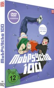 Mob Psycho Vol 2 Review DVD Cover
