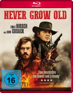 Never Grow Old Review BD Cover