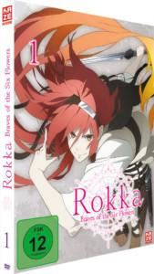 Rokka Vol 1 DVD Cover