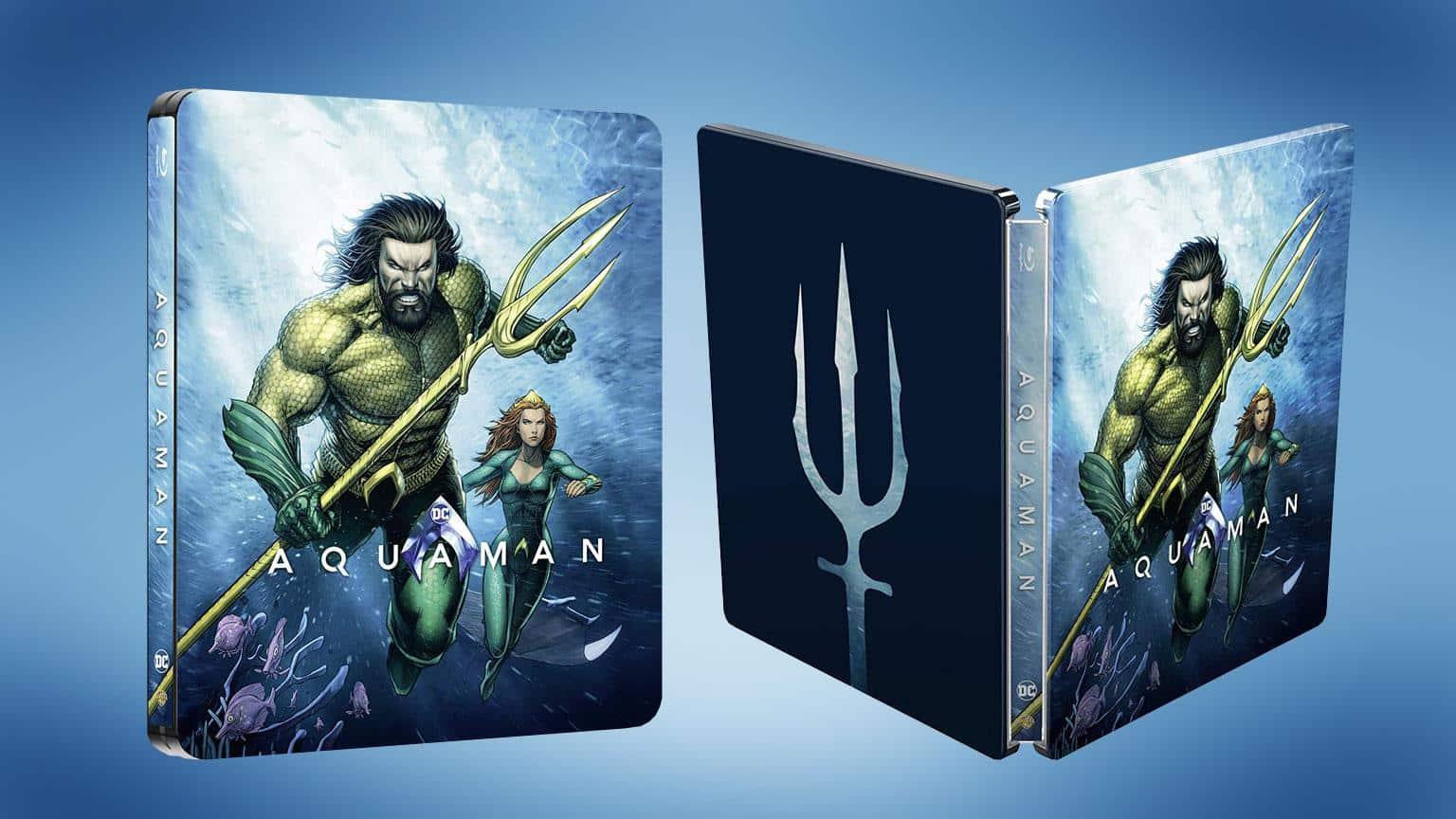 Aquaman Illustriertes Limitiertes Steelbook