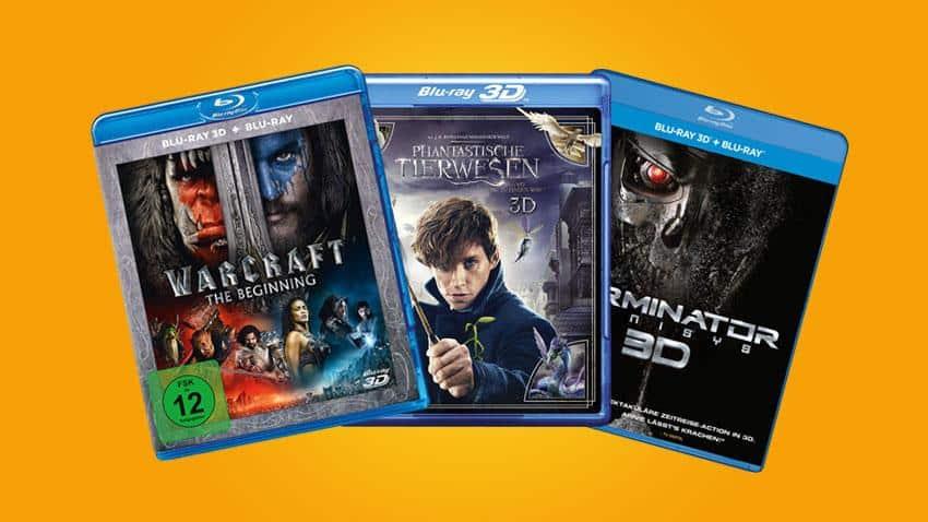 Amazon.de Deal 3 x 3D Blu-ray für 30 EUR Artiklebild