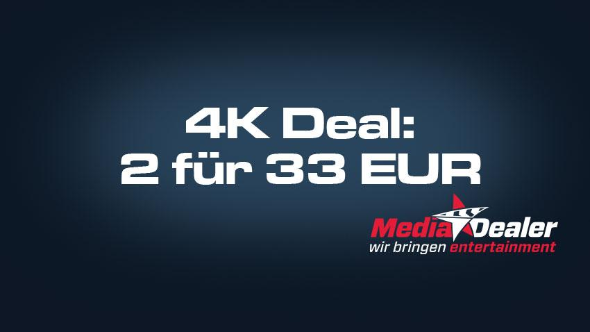 Media-Dealer.de Deal 4K UHD Aktion 2 für 33 EUR Artikelbild