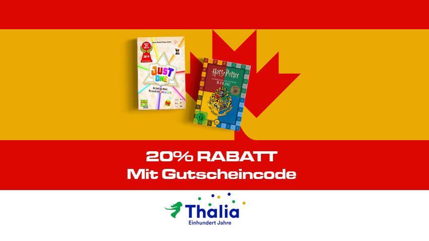 Thalia Deal 20 % Rabatt Herbstgutschein Artikelbild