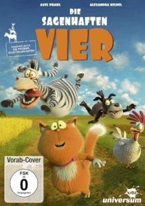 Die sagenhaften Vier News DVD Cover