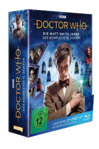 Doc Who Matt 11 BD Cover