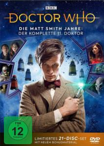 doc who Matt 11 News DVD Cover