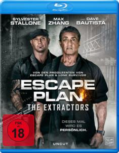 ESCAPE PLAN – THE EXTRACTORS BD Cover