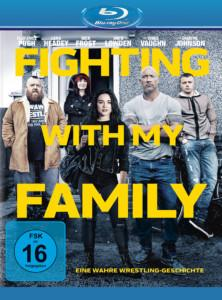 Fighting with my Family bd Cover