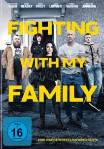 Fighting with my Family Review DVD Cover