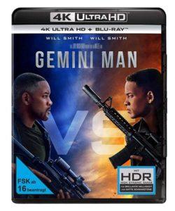 Gemini man 4K UHD Cover