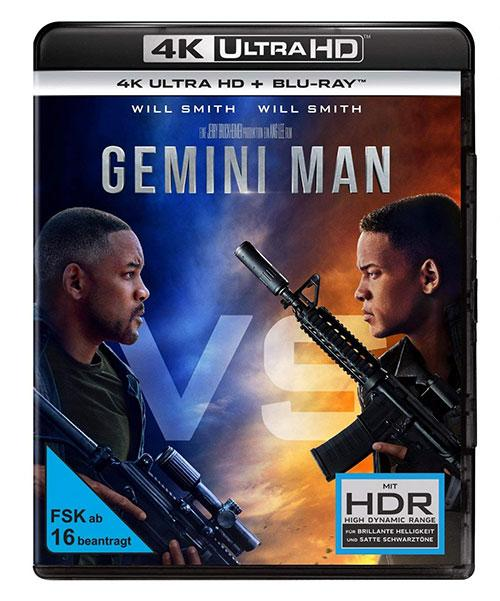 Gemini man 4K UHD Cover