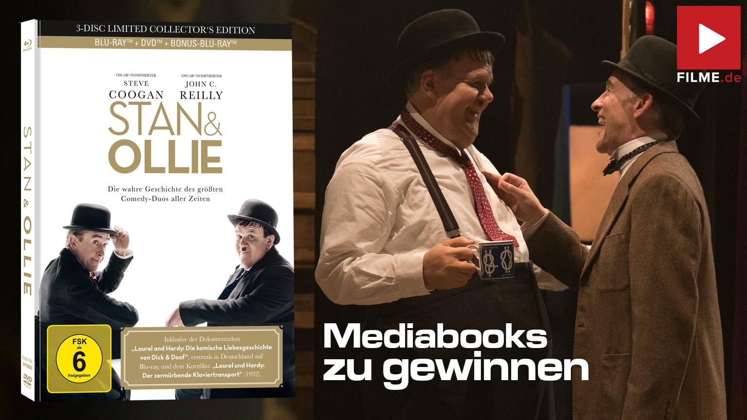 Stan & Ollie Mediabook Gewinnspiel Artikelbild