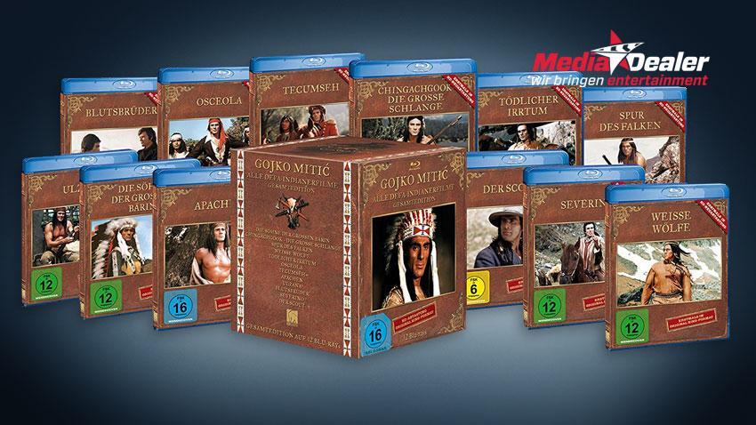 Gojko Mitic - Alle DEFA-Indianerfilme - Gesamtedition (Blu-ray) Deal Media-Dealer.de