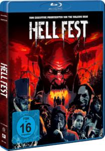 Hell Fest Review BD Cover