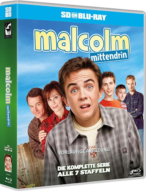 Malcom Mittendrin SD on Blu-ray Review Cover