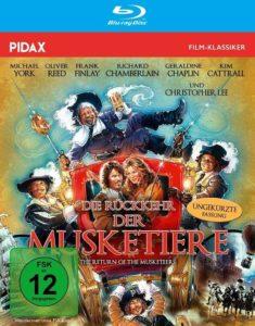 Die Rückkehr der Musketiere Review BD Cover