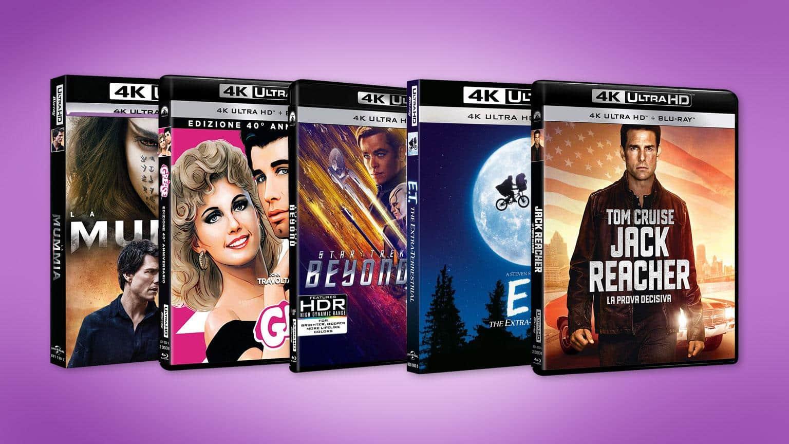 2 für 30 EUR 4K UHD Blu-ray Amazon.it