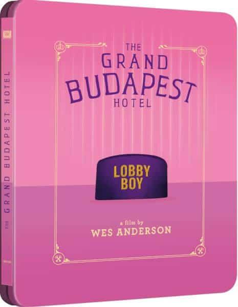 Grand Budapest Hotel Steelbook Cover