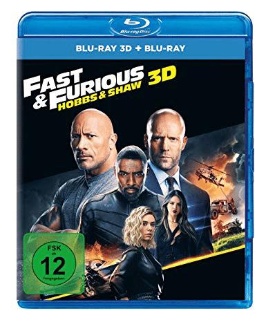 Fast & Furious: Hobbs & Shaw 3D BD Cover