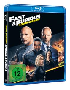 Fast & Furious: Hobbs & Shaw BD Cover