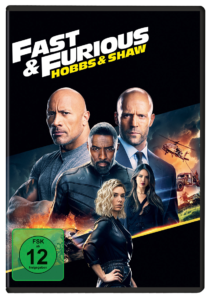 Fast & Furious: Hobbs & Shaw DVD Cover