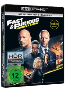 Fast & Furious: Hobbs & Shaw UHD Cover