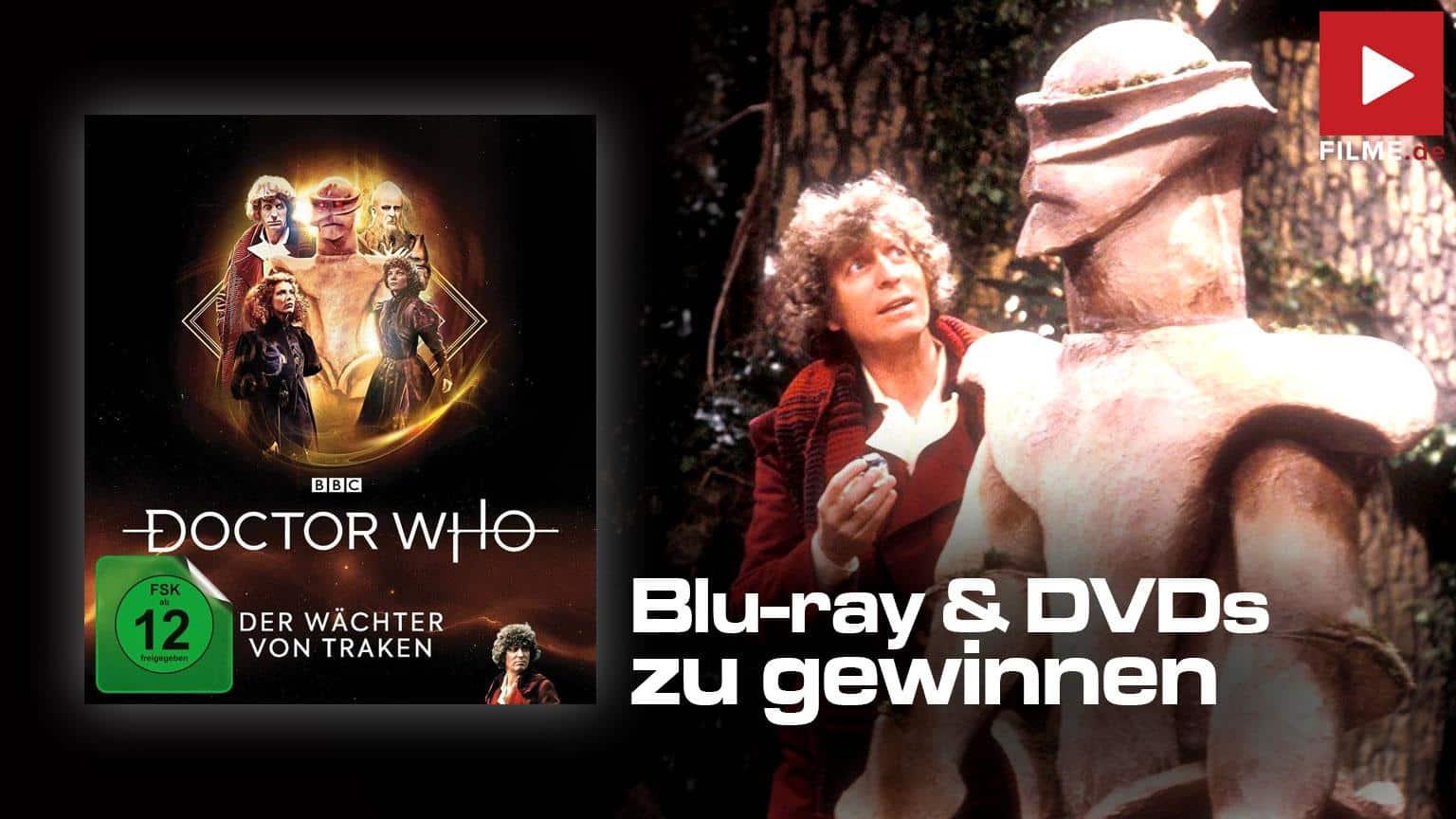 Doctor Who Vierter Doktow Der Wächter von Traken Gewinnspiel Artikelbild
