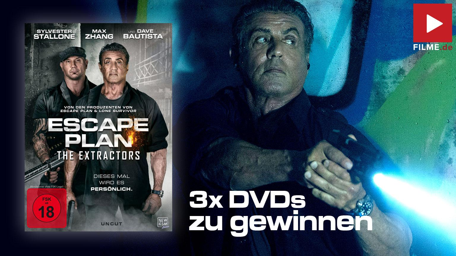 Escape Plan The Extractors Gewinnspiel
