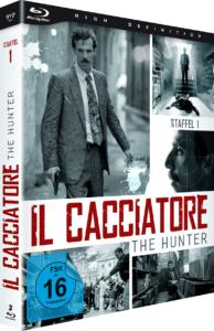 Il Cacciatore - The Hunter BD Cover