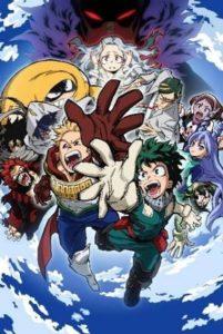My Hero Academia Season 4 News Plakat