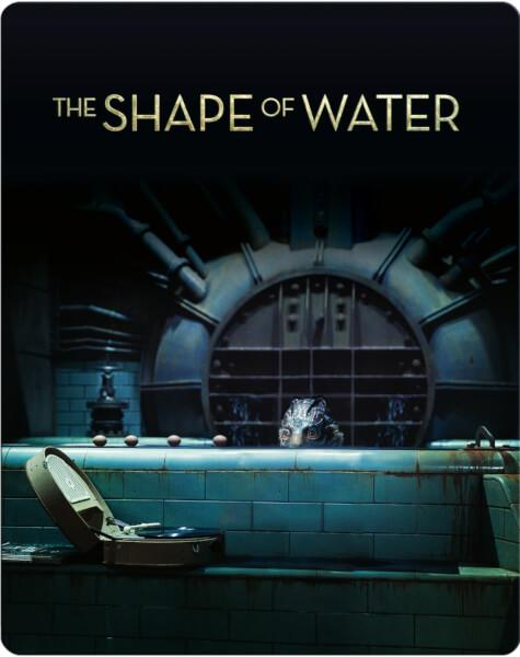 The Shape of water Steelbook Cover