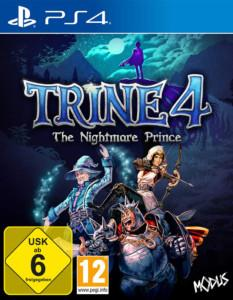 Trine 4 ps4 Cover