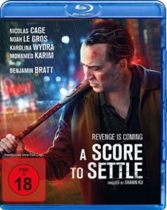 A Score to Settle Blu-ray Cover