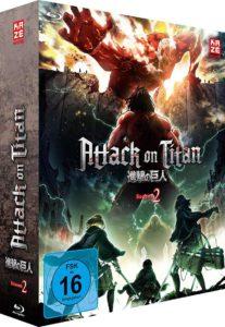 Attack of Titan S2 Vol 1 BD Cover
