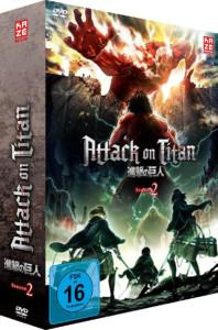 Attack of Titan S2 Vol 1 DVD Cover