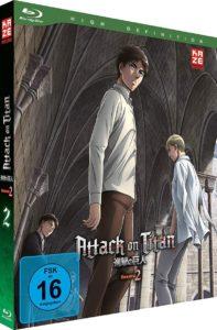 Attack of Titan S2 Vol 2 BD Cover