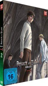 Attack of Titan S2 Vol 2 DVD Cover