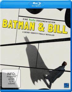 Batman and Bill BD Cover