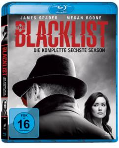 BlackList Staffel 6 BD Cover