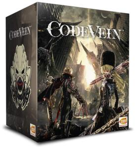 Code Vein PS4 Collectors Cover