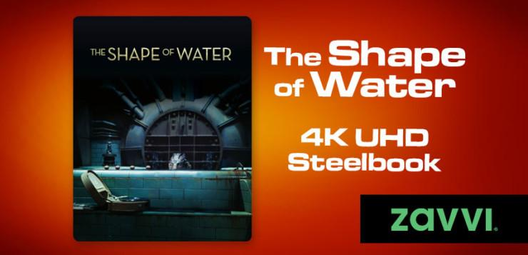 Zavvi Deal The Shape of Waters Steelbook