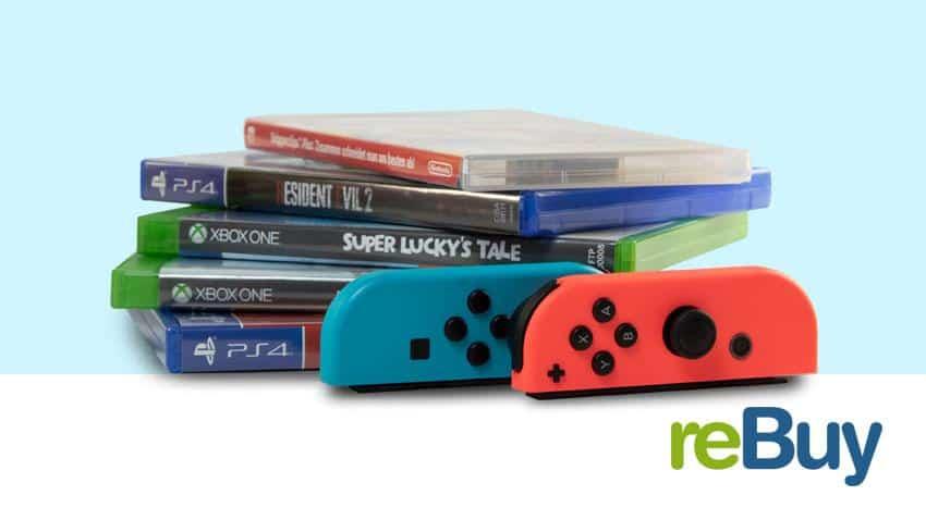 Deal ReBuy 15 % Rabatt auf Games