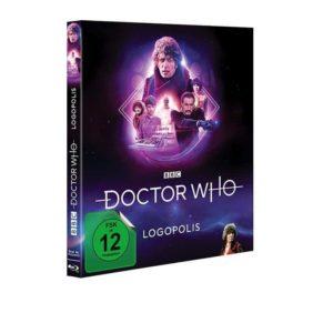 Doctor Who Logopolis BD Cover