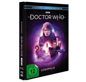 Doctor Who Logopolis  MB Cover