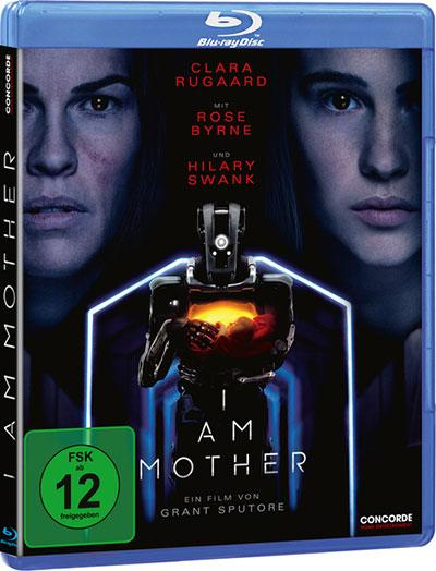 I am Mother Blu-ray Cover
