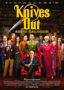Knives Out - Mord ist Familiensache kino plakat