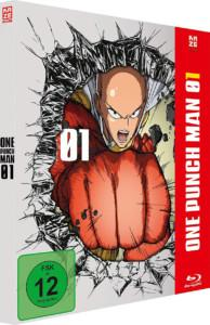 One Punch Man Vol1 BD Cover