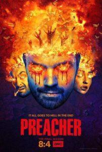 Preacher Staffel 4 Review Plakat